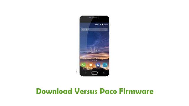 Download Versus Paco Firmware