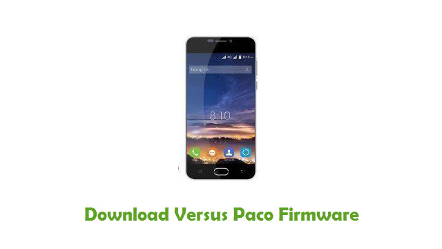 Download Versus Paco Stock ROM