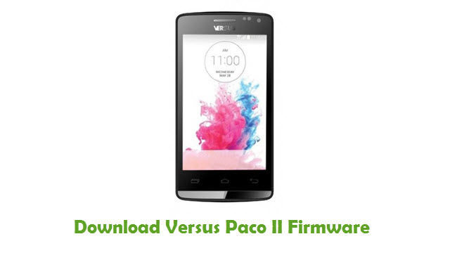 Download Versus Paco II Stock ROM