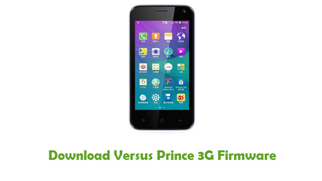Download Versus Prince 3G Stock ROM