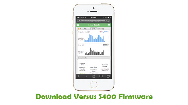 Download Versus S400 Stock ROM