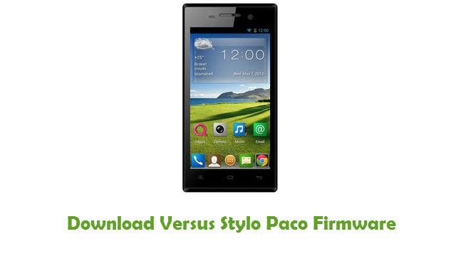 Versus Stylo Paco Stock ROM
