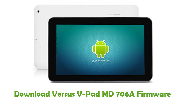 Versus V-Pad MD 706A Stock ROM