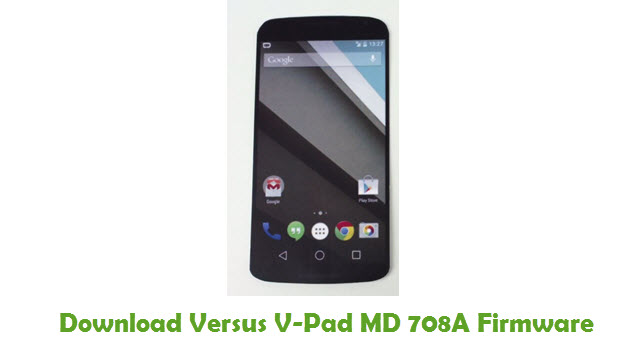 Versus V-Pad MD 708A Stock ROM