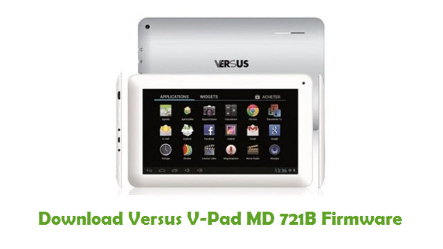 Download Versus V-Pad MD 721B Stock ROM