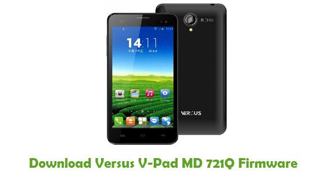 Versus V-Pad MD 721Q Stock ROM