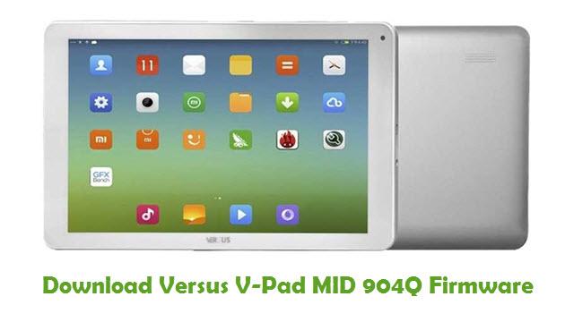 Versus V-Pad MID 904Q Stock ROM