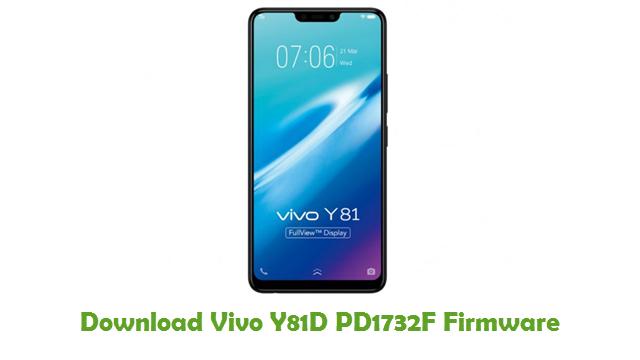 Download Vivo Y81D PD1732F Firmware