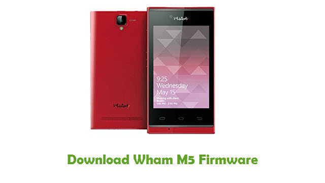 Download Wham M5 Firmware