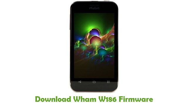 Download Wham W186 Firmware