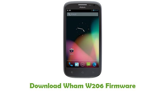 Download Wham W206 Firmware