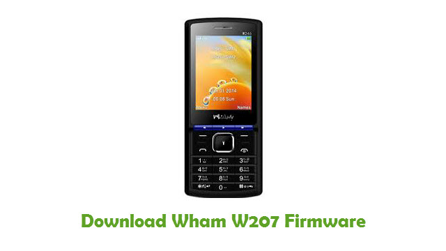 Download Wham W207 Firmware