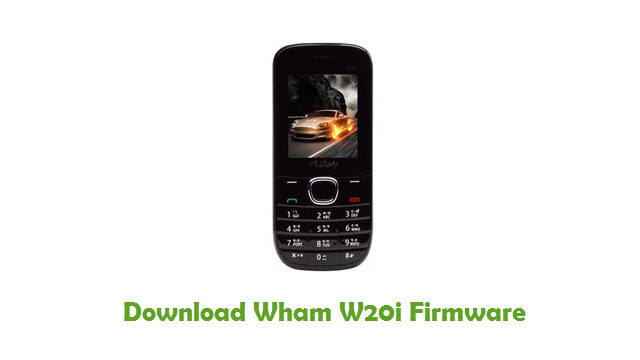 Download Wham W20i Firmware