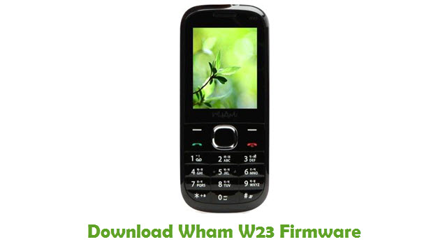 Download Wham W23 Firmware