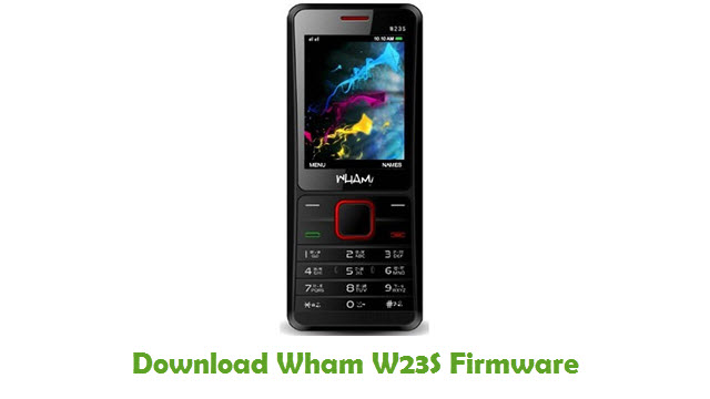 Download Wham W23S Firmware
