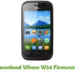 Wham W24 Firmware