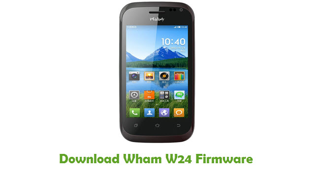 Download Wham W24 Firmware