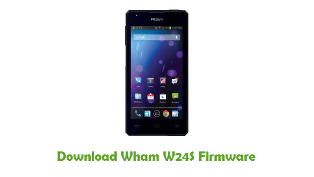 Download Wham W24S Firmware