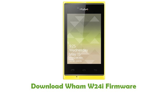 Download Wham W24i Firmware