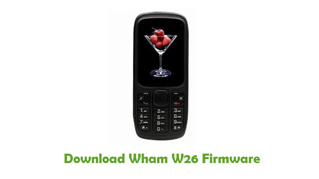 Download Wham W26 Firmware