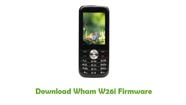 Download Wham W26i Firmware