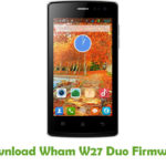 Wham W27 Duo Firmware