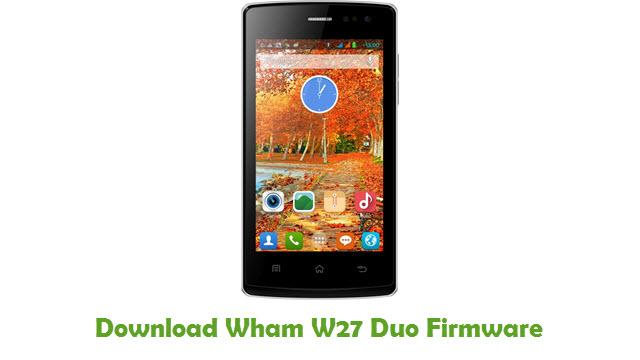 Download Wham W27 Duo Firmware