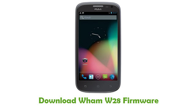 Download Wham W28 Firmware