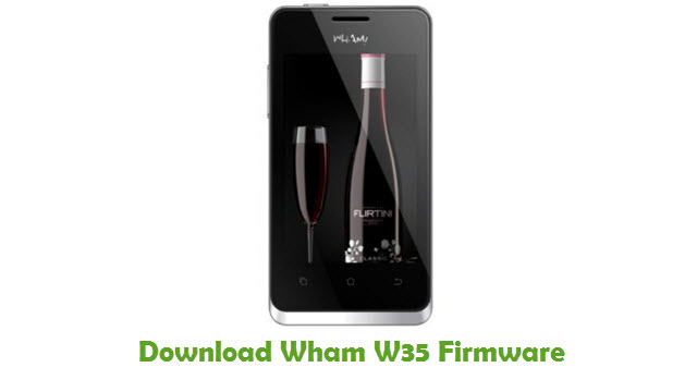 Download Wham W35 Firmware