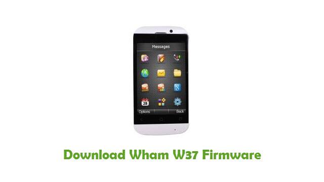 Wham W37 Stock ROM