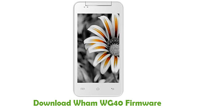 Download Wham WG40 Firmware