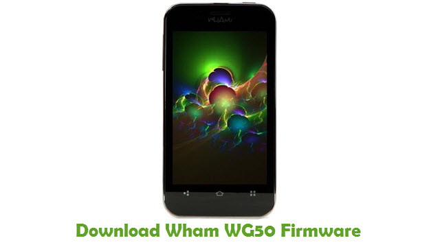 Download Wham WG50 Firmware