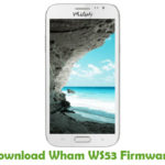Wham WS53 Firmware