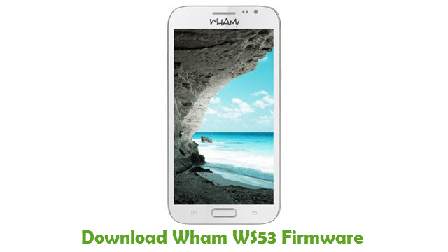 Download Wham WS53 Firmware