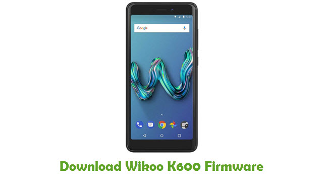 Wikoo K600 Stock ROM