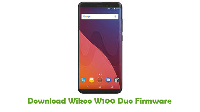 Download Wikoo W100 Duo Firmware