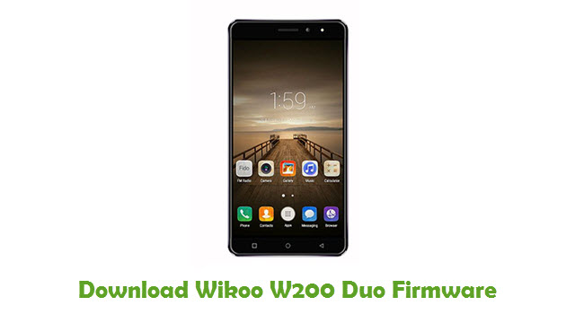 Wikoo W200 Duo Stock ROM