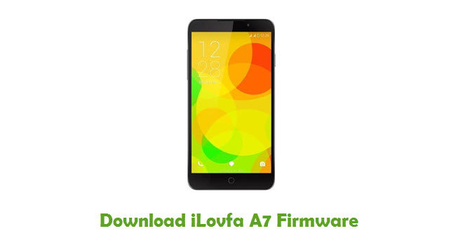 Download iLovfa A7 Stock ROM