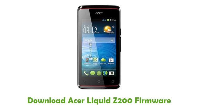 Acer Liquid Z200 Stock ROM