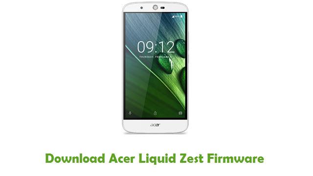 Acer Liquid Zest Stock ROM