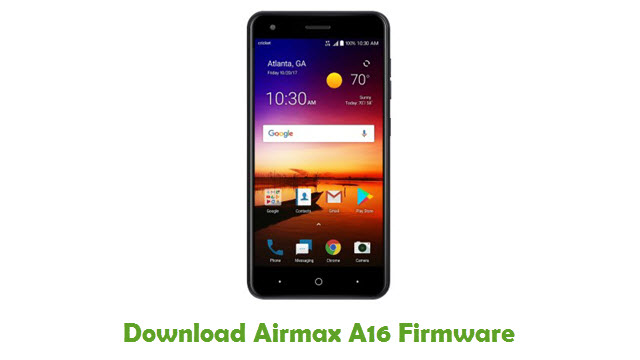 Airmax A16 Stock ROM
