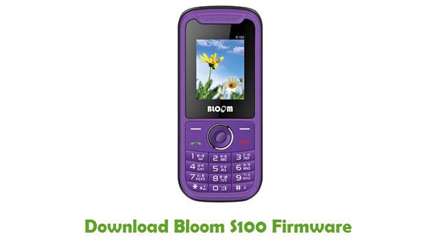 Bloom S100 Stock ROM