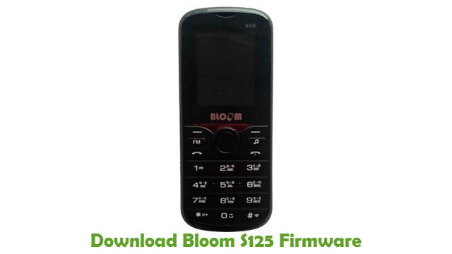 Bloom S125 Stock ROM