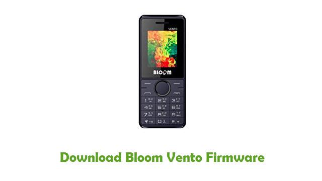 Download Bloom Vento Stock ROM