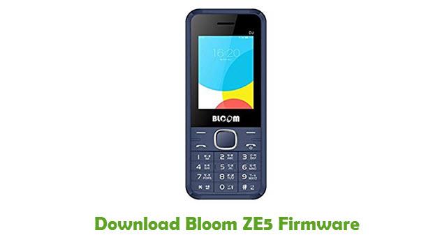 Download Bloom ZE5 Stock ROM