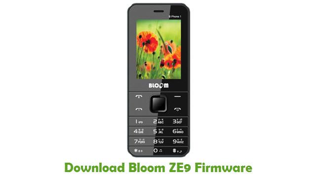 Download Bloom ZE9 Stock ROM