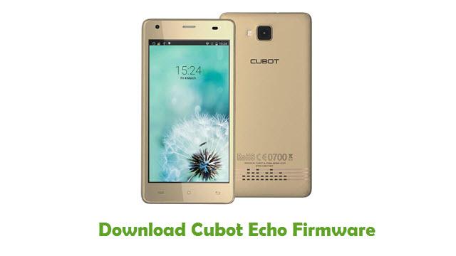 Cubot Echo Stock ROM