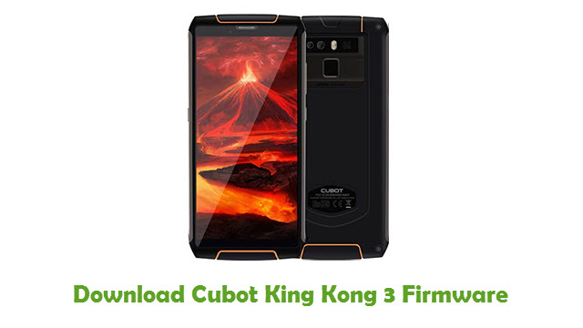 Download Cubot King Kong 3 Firmware