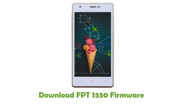 FPT S550 Stock ROM