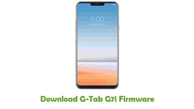 G-Tab G7i Stock ROM